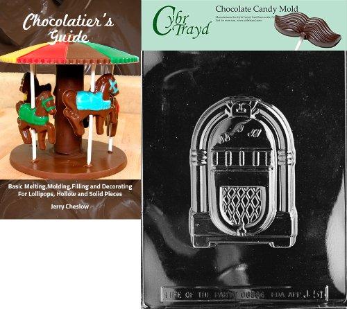 Cybrtrayd Juke Box Chocolate Candy Mold with Chocolatier