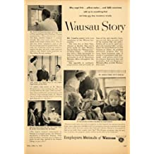 1955 Ad Employers Mutual Insurance Wausau Story Krause - Original Print Ad