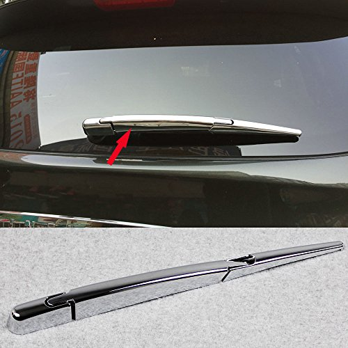 (Fit for Nissan QASHQAI 2014-2018 Chrome Rear Back Window Wiper Cover Trims)