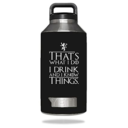 633ae1cf560 Image Unavailable. Image not available for. Color: I Drink And I Know Things  ...