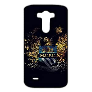Best Design FC Manchester City Phone Case Cover For LG G3 3D Plastic Phone Case