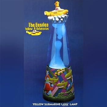 Marvelous Beatles Yellow Submarine Lava Lamp