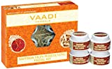 Vaadi Herbals Saffron Skin Whitening Facial Kit with Sandalwood Extract, 70g