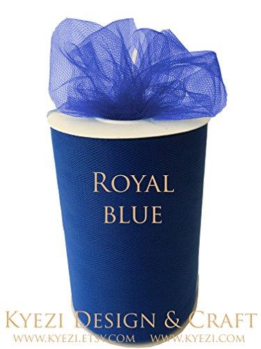 """TULLE Roll Spool 6""""x100yd Tutu Wedding Gift Craft Bow Decoration Craft (Royal Blue)"""
