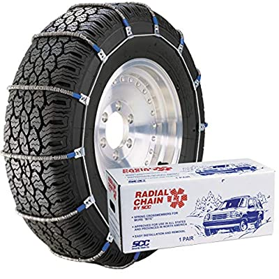 Security Chain Company TC2512MM Radial Chain LT Cable Tire Traction Chain for Light Trucks - Set of 2: Automotive