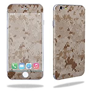 "Mightyskins Protective Vinyl Skin Decal Cover for Apple iPhone 6/6S Cell Phone 4.7"" Cover wrap sticker skins Desert Camo"