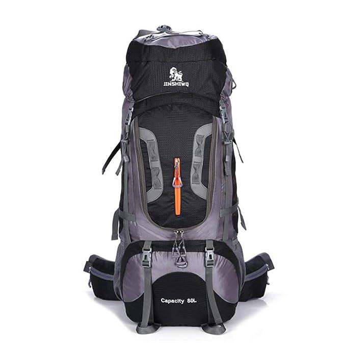 Moda casual 56-75L mochila grande para llevar Viajes Senderismo Mochila ultraligera Mochilas plegables para acampar Mochila al aire libre para adolescentes ...