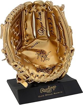 Ozzie Smith St. Louis Cardinals Autographed Mini Gold Glove with 13x Gold Glove Inscription - Fanatics Authentic Certified