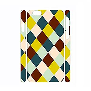 Customized Designer Handmade Phone Accessories Geometric Series Pattern Print Cover Case for Iphone 6 Plus - 5.5 Inch by icecream design