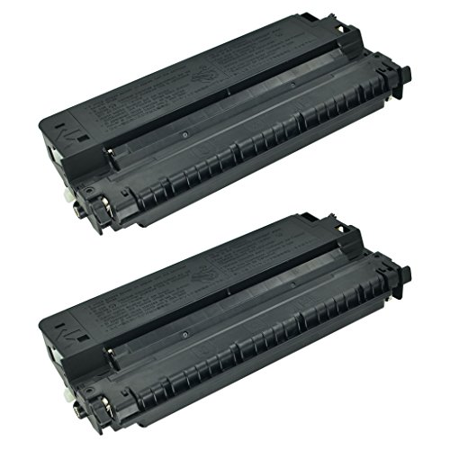 SuperInk 2 Pack Compatible For Canon E40/E30/E31/E16/E20 (1491A002AA) Black Toner Cartridge For Canon PC-150 PC-160 PC-325 PC-40 Copy Machines (Cartridge E40 Black)
