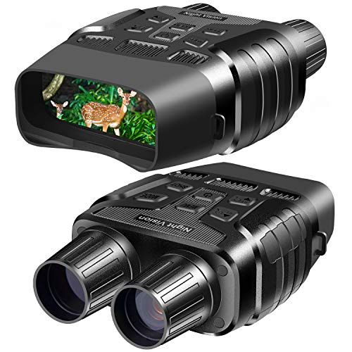 """Night Vision Goggles, Digital Infrared Night Vision Binoculars with Take HD Photo & 980P Video from 300m / 984ft in Total Darkness, Night Goggles with 2.31"""" TFT LCD and 32G Memory Card"""