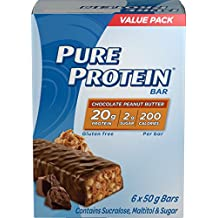 Pure Protein Chocolate Peanut Butter Value Pack, 6- Count