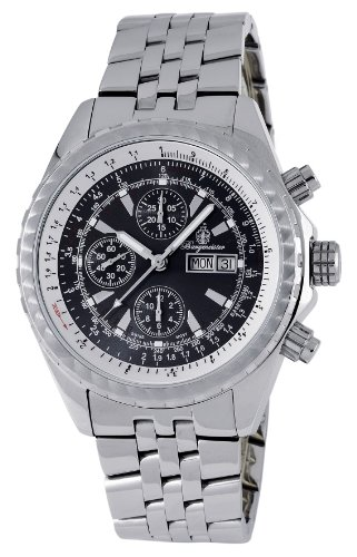 Burgmeister Men's BM154-121 St. Moritz Automatic Chronograph Valjoux 7750 Watch