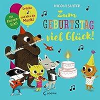 Zum Geburtstag viel Glück!: Drücke die Note und höre die Musik! Mit Kerzenlicht!