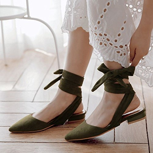 basses Green Slingback Zanpa 3 Donna Mode XqUwHS7EH