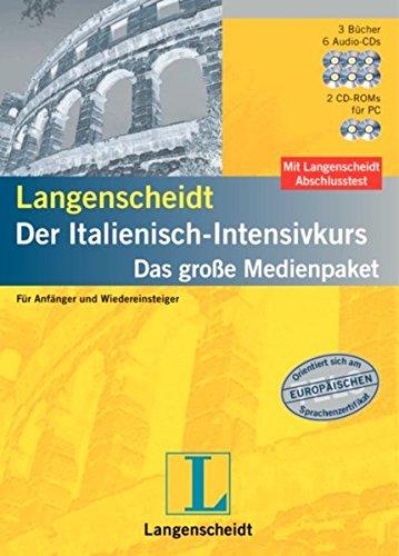 Langenscheidt Intensivkurse. Das grosse Medienpaket für Anfänger und Wiedereinsteiger / Langenscheidt Intensivkurse. Das grosse Medienpaket für ... Der Italienisch-Intensivkurs