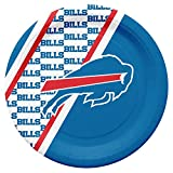 Duck House NFL Buffalo Bills Disposable Paper Plates, Pack of 20