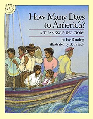 book cover of How Many Days to America?