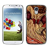 Smartphone Hard PC Case Protective Cover for Samsung Galaxy S4 / Phone Case TECELL Store / Redhead Womn Girl Power Fist Knuckle Ring
