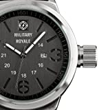 Brand New Military Royale Black Dial Swiss Design Mens Analog Army Date Display Sport Nylon Watch MR075, Watch Central