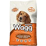 Wagg Worker Complete with Chicken and Veg 17kg (Pack of 17kg)