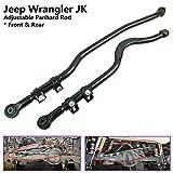 Front + Rear Adjustable Panhard Rod Bar Fit JEEP Wrangler JK 07-16 lift 2-4 inch