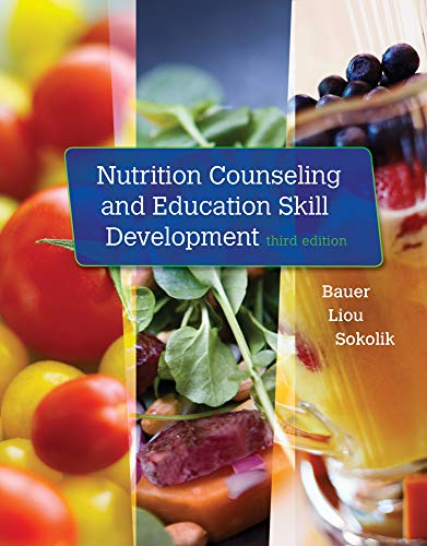 Nutrition Counseling and Education Skill Development from Brooks / Cole