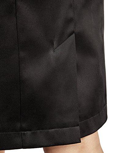 2900n Jupe Coupe Noir Ceinture Droite oodji Collection avec Femme pqwWFZ8