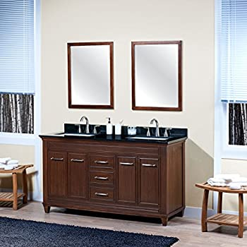 Maykke Aiden 60 Quot Bathroom Vanity Set In Birch Wood
