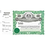 Goes 193 1/2 Louisiana Stock Certificate - Pack of 100