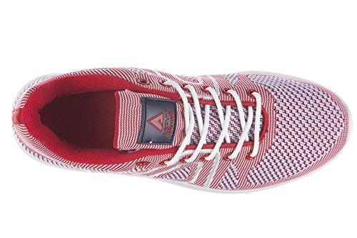 Scarpe Da Ginnastica Donna Sneakers Asfvlt Rosse