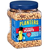 Planters Dry Roasted Peanuts, 2 LB 2.5 oz (Count of 3) by Planters