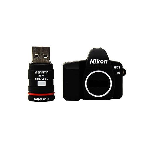 Mini Nikon Camera USB Flash Drive Funny Memory Stick (NIKON 8GB)