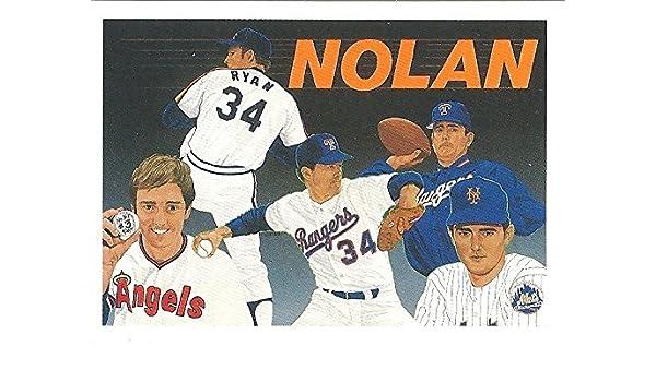 Amazoncom Nolan Ryan Baseball Heroes Collectors Set Of10