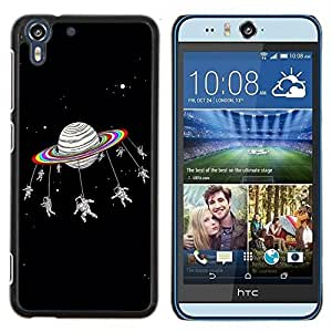 Dragon Case - FOR HTC Desire EYE M910x - Friends are like stars - Caja protectora de pl??stico duro de la cubierta Dise?¡Ào Slim Fit