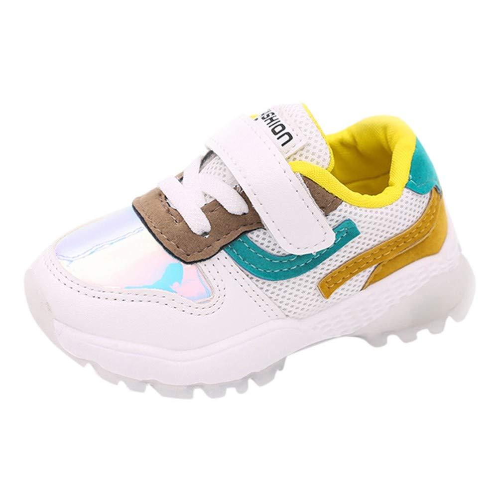 Zapatillas deportivas Niños Niñas, ❤ Amlaiworld Calzado deportivo casual de Mallas para bebés Niños niñas Zapatos Calzado de Labor de retazos chicas ...