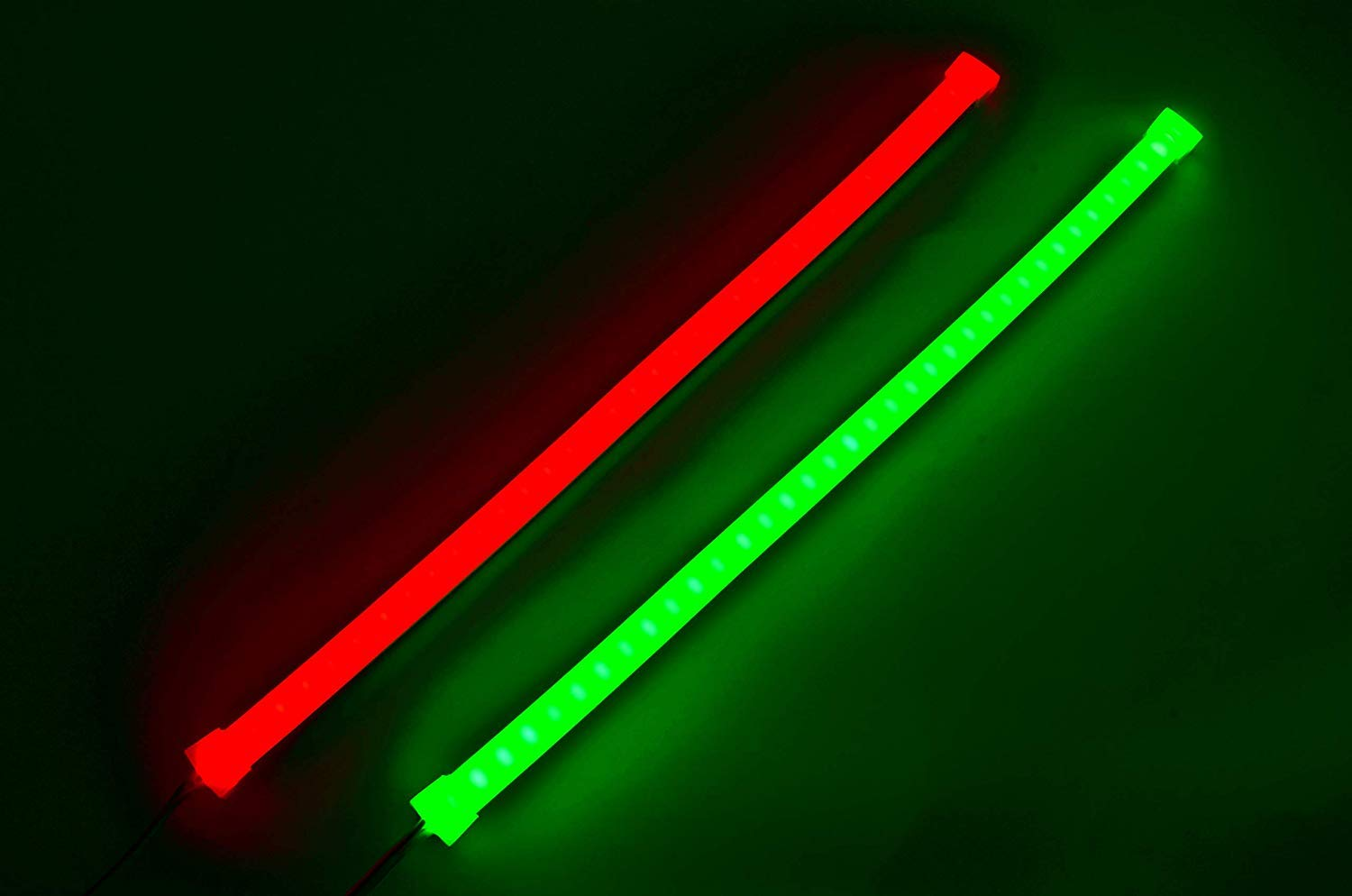 Pimp My Boat Neon Navs, Premium Red & Green Neon Navigation Boat LED Light  Strip Kit IP68 Waterproof for Bass Boats, Pontoons, Wave Runners, Kayaks,