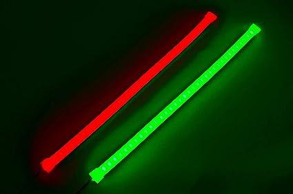 Pimp My Boat Neon Navs, Premium Red & Green Neon Navigation Boat LED Kayak Led Wiring Diagram on