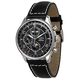 Zeno-Watch Mens Watch - Godat II Fullcalendar Chronograph - 6273VKL-g1