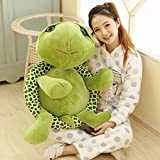1pcs 80CM Big Plush Green Turtle Giant Large Stuffed Animals Soft Plush Toy Doll Pillow Cushion Birthday Holiday Child Girl Boy Gift