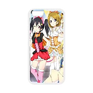 Love Live iPhone 6 6s Plus 5.5 Inch Cell Phone Case White Custom Made pp7gy_3373260