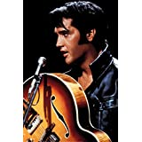 Elvis Presley (King of Rock and Roll) Music Poster Print - 24x36