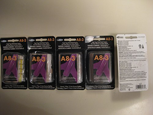 Lot Of 10 Estes A8-3 Single Stage Model Rocket Engine/Motor (5 X 2) Packs)