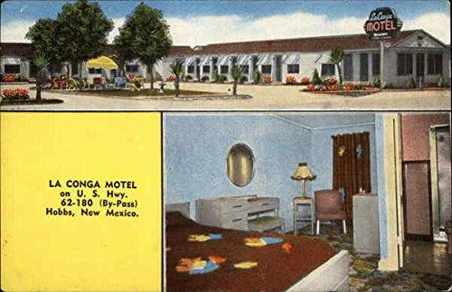 La Conga Motel Hobbs, New Mexico Original Vintage - Congas Vintage