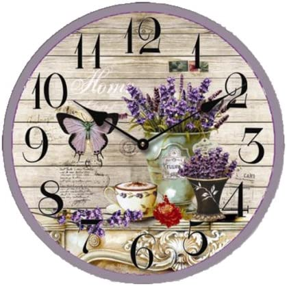 Creative Motion Butterfly Flower Clock