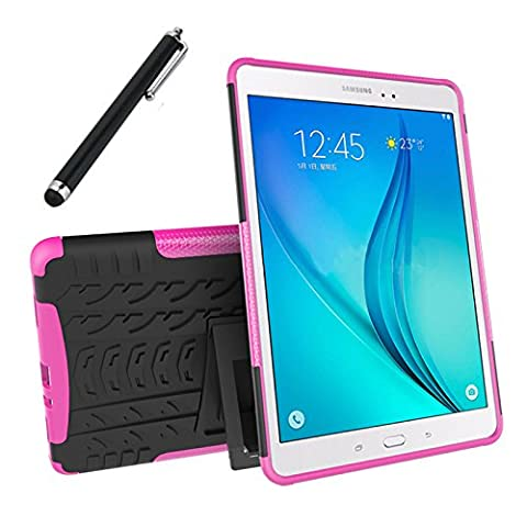 Galaxy Tab A 9.7 Case, Tab A 9.7 Case, Asstar Shockproof Heavy Duty Rugged Hybrid Kickstand Protective Case for Samsung Galaxy Tab A 9.7 inch [SM-T550] Tablet with 1x Stylus Pen for Free (Otterbox Privacy Screen Iphone 5)