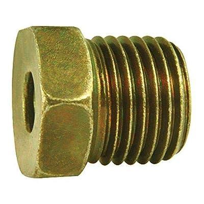 4LIFETIMELINES Steel Tube Nut, 3/16 (9/16-18 Inverted), 10/bag: Automotive