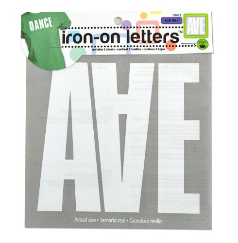 Best iron on letters white 5 inches for 2019
