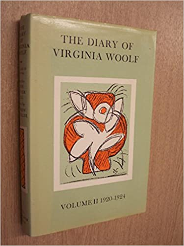 Book The Diary of Virginia Woolf, Vol. 2: 1920-1924