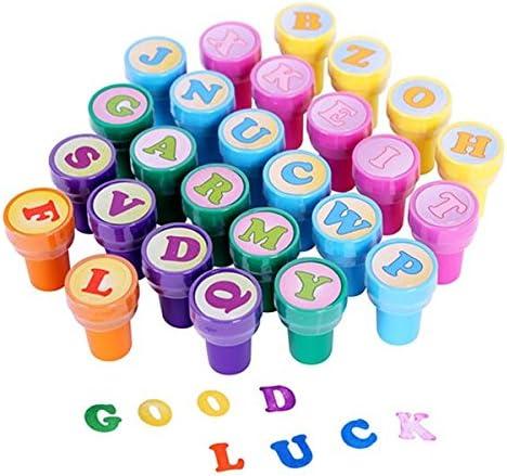 ULTNICE 26 piezas de estampillas de juguetes multicolores sellos ...